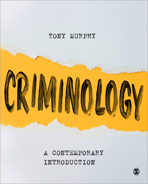 Front Cover of Criminology: A Contemporary Introduction
