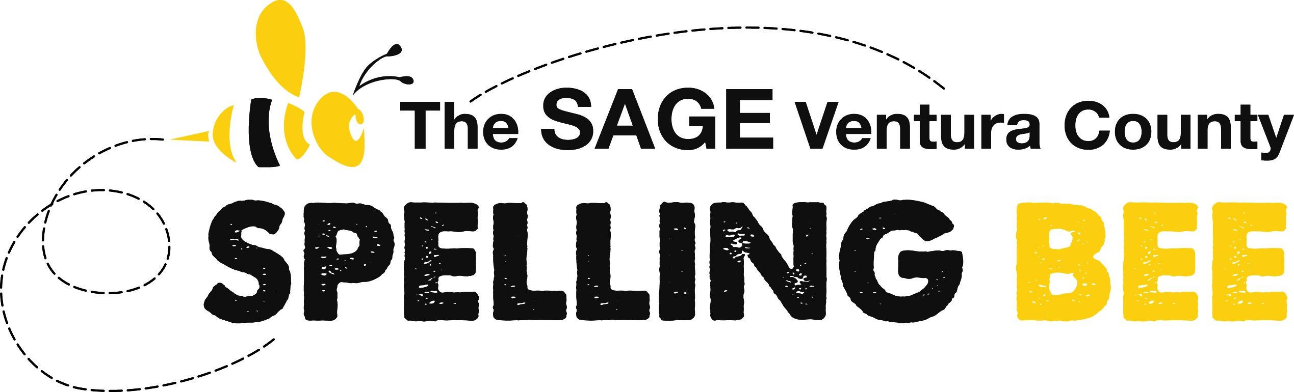 The SAGE Ventura County Spelling Bee logo