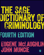 SAGE Dictionary of Criminology 4e