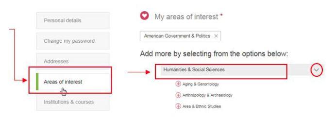 Choose Humanities & Social Sciences