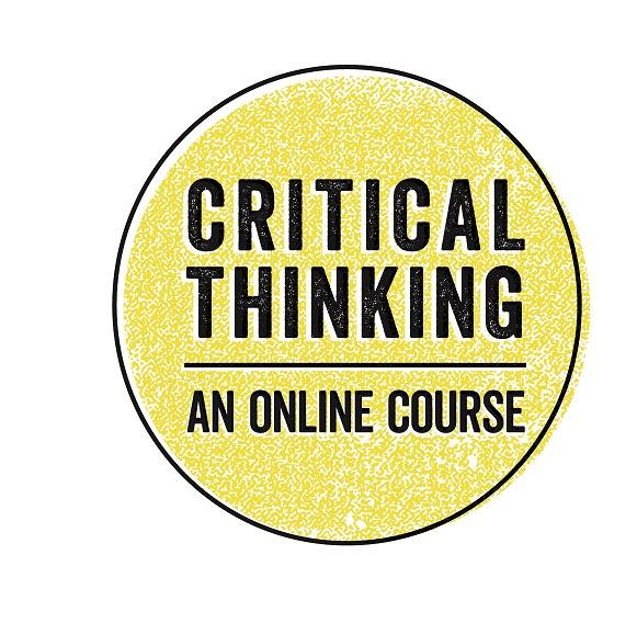 Critical Thinking: An online course logo
