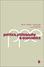 Politics, Philosophy & Economics cover image