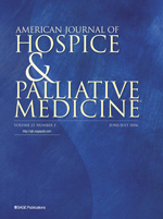 American Journal of Hospice and Palliative Medicine®