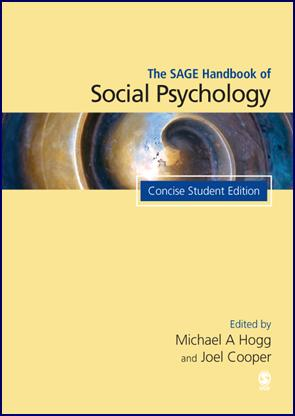The SAGE Handbook of Social Psychology