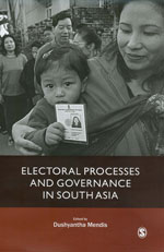 Electoral Processes and Governance in South Asia
