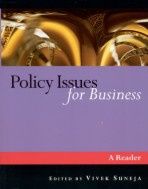Policy Issues for Business