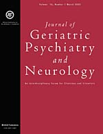 Journal of Geriatric Psychiatry and Neurology
