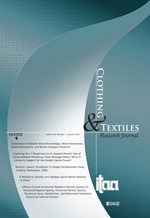 Clothing and Textiles Research Journal