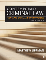 BUNDLE: Lippman: Contemporary Criminal Law 3e + Lippman: Contemporary Criminal Law 3e Electronic Version