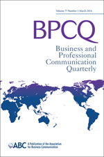 Business and Professional Communication Quarterly