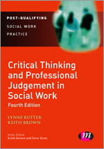 critical thinking for social work keith brown lynne rutter Buy, download and read critical thinking for social work ebook online in epub format for iphone, ipad, android, computer and mobile readers author: keith brown lynne rutter.