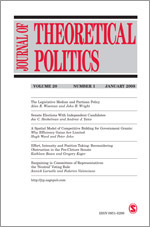 Journal of Theoretical Politics