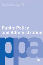 Public Policy and Administration